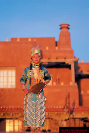 Native American Woman | Santa Fe Chamber of Commerce | Santa Fe, NM